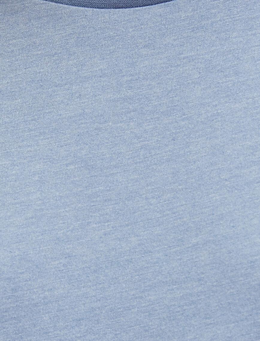 Short Sleeve T-Shirt Crew Neck Cotton