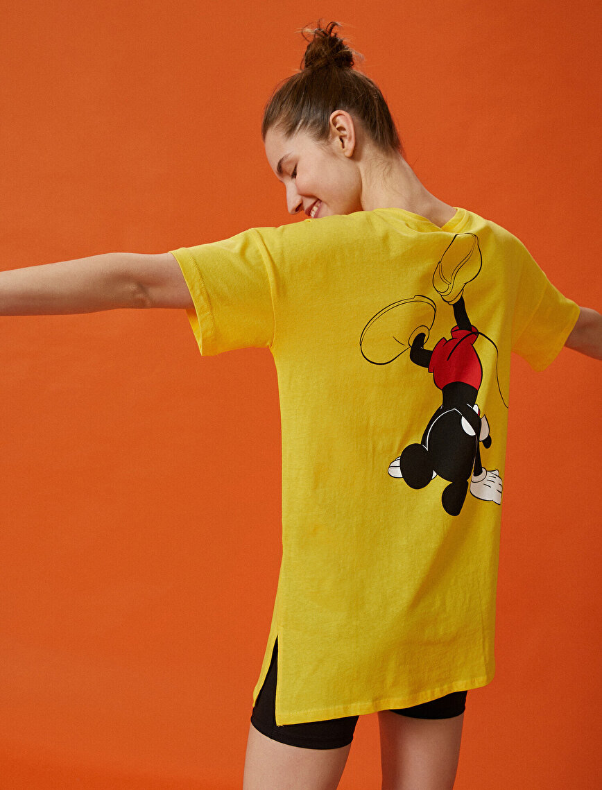 Mickey Mouse T-Shirt Disney Licensed  Cotton