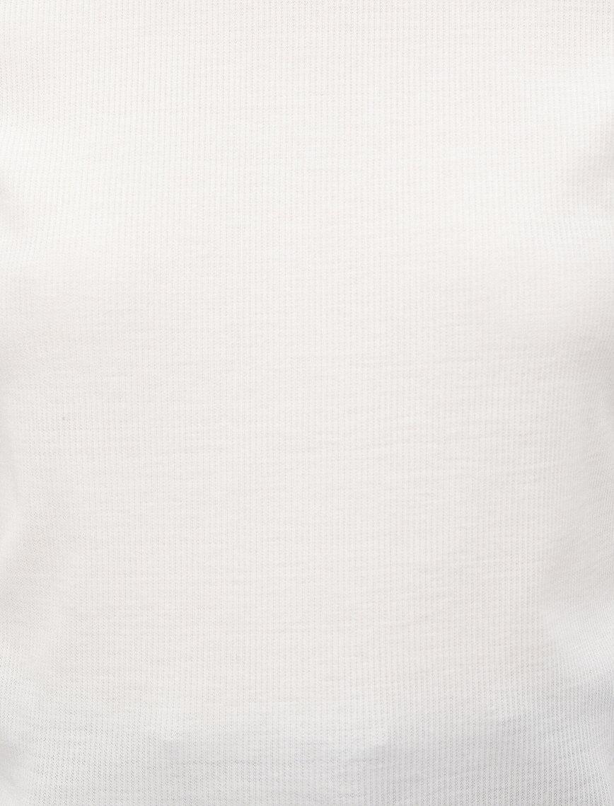 Stripe Detailed Short Sleeve T-Shirt