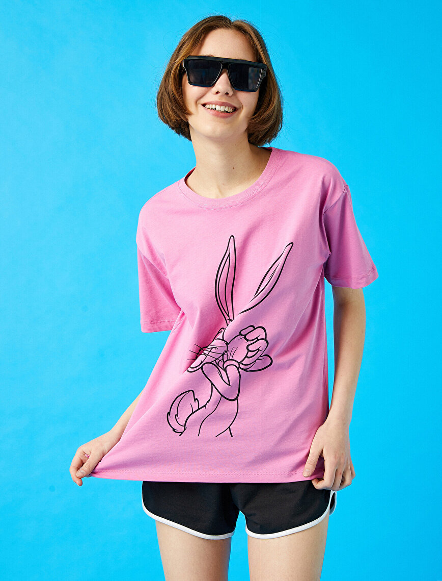 Bugs Bunny Tişört Lisanslı Pamuklu