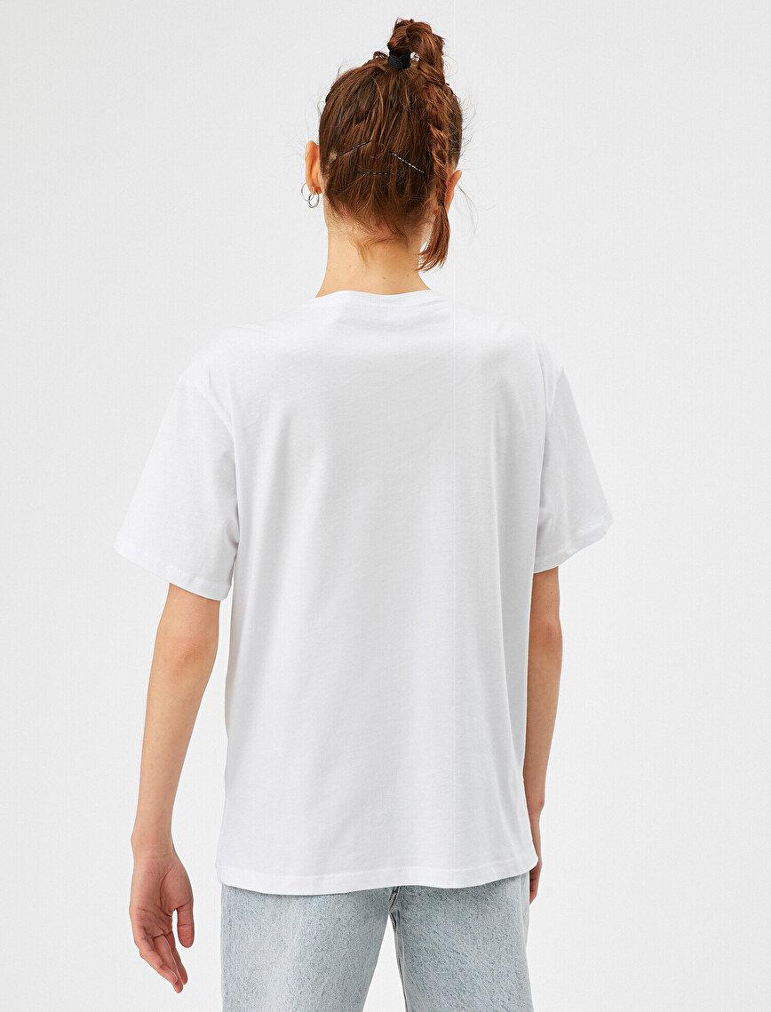 Çakmaktaş Tişört Lisanslı Pamuklu Oversize