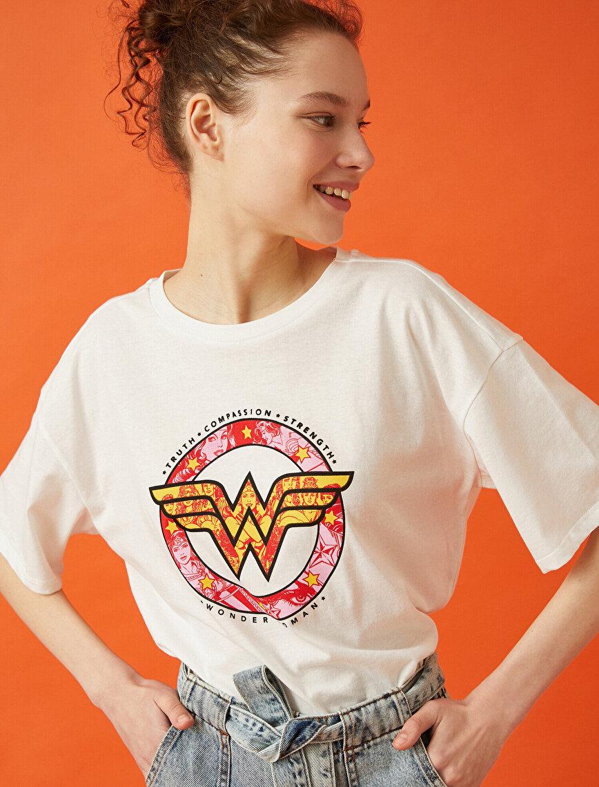 Wonder Woman Tişört Lisanslı Pamuklu
