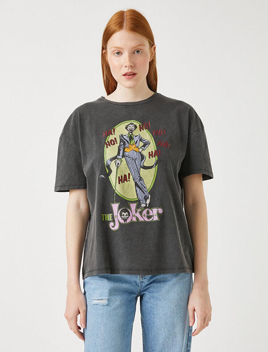 Joker Tişört Lisanslı Pamuklu