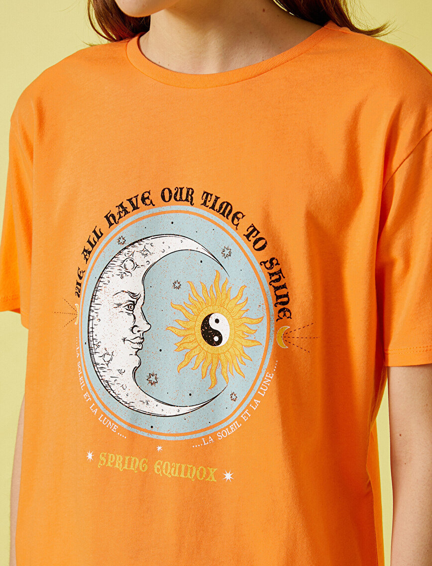 Printed T-Shirt Crew Neck