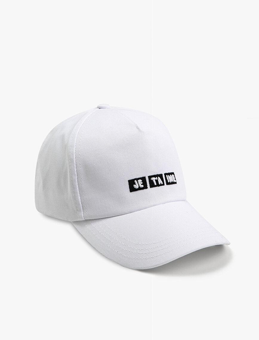 Letter Hat Cotton