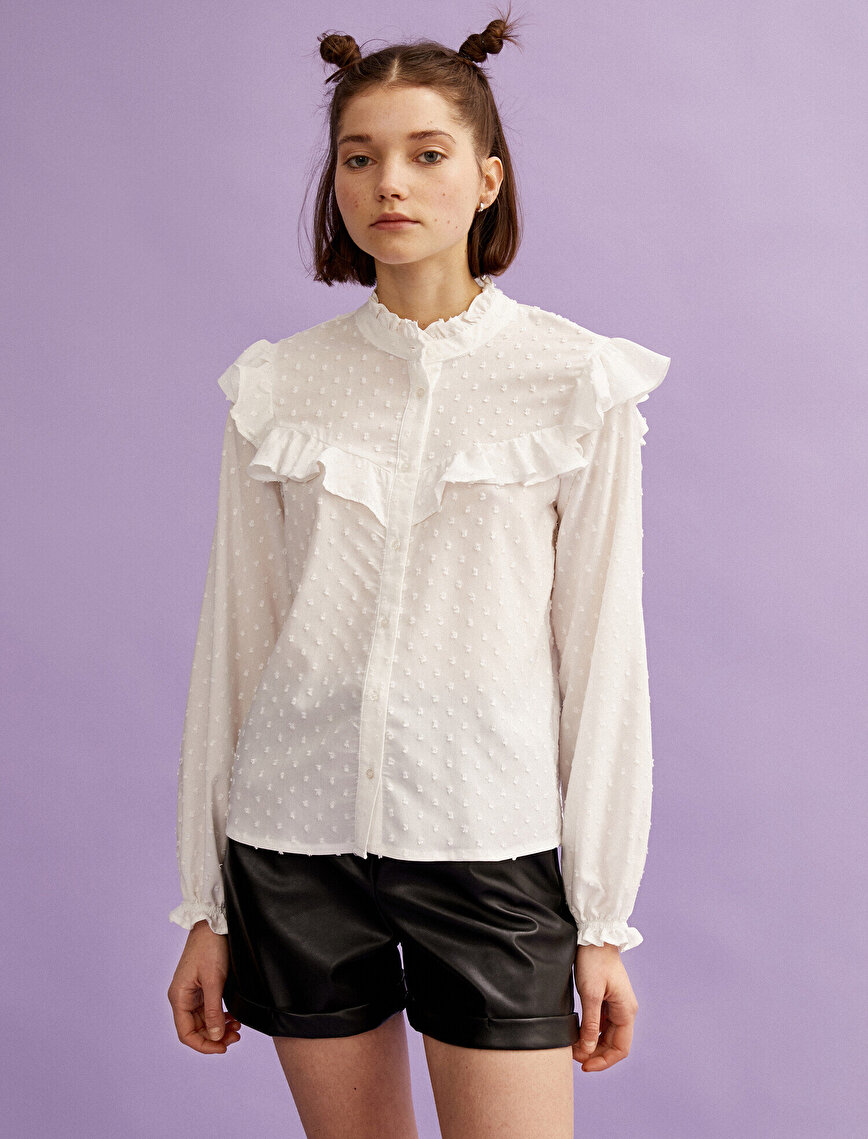 Frilled Shirt