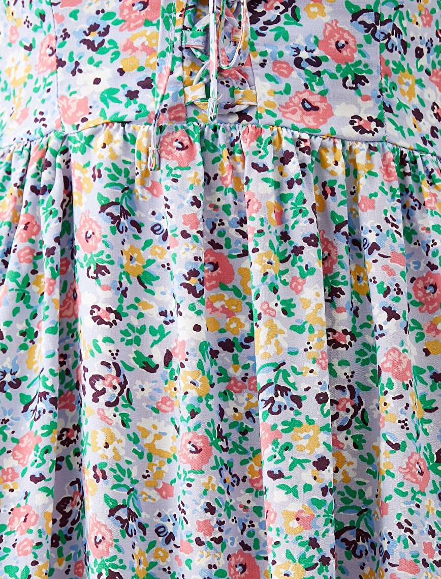 Floral Dress Thin Strap