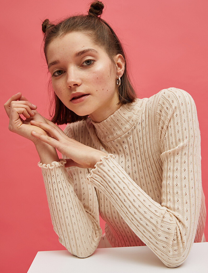 Stand Neck Sweater