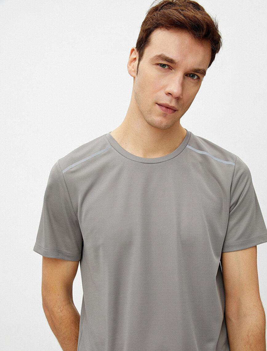 Crew Neck Short Sleeve Basic T-Shirt
