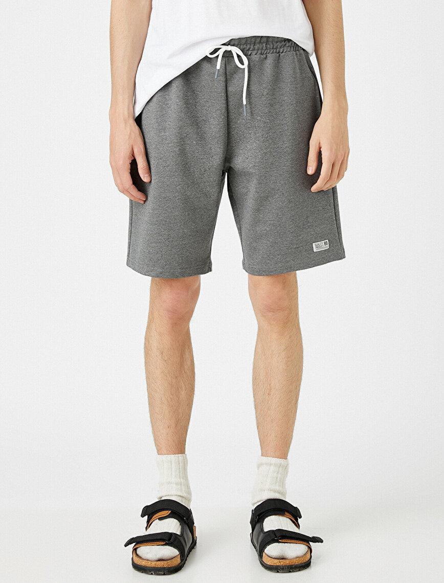 Basic Shorts Pocket Cotton Drawstring