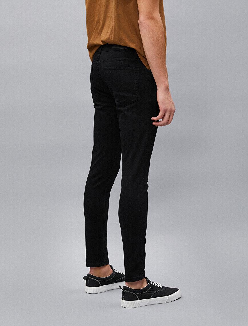 Super Skinny Fit Kot Pantolon - Justin Jean