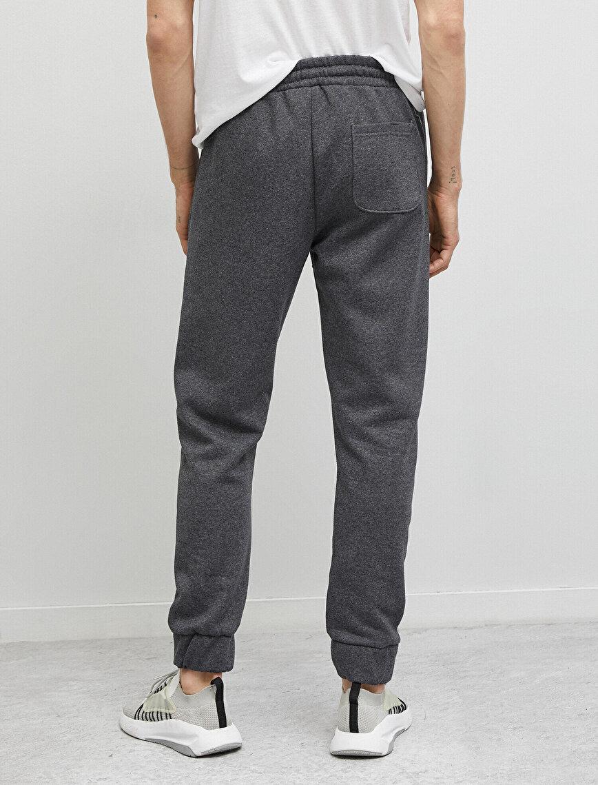Cotton Drawstring Pocket Jogger Jogging Pants