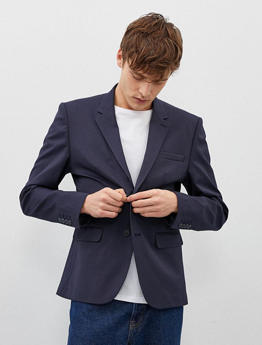 Blazer Jacket Pocket