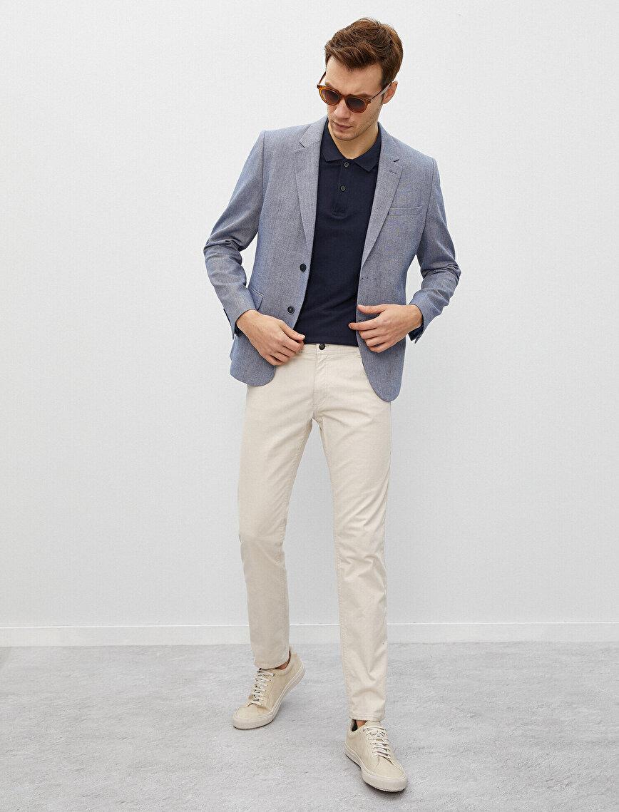 Cotton Blazer Jacket