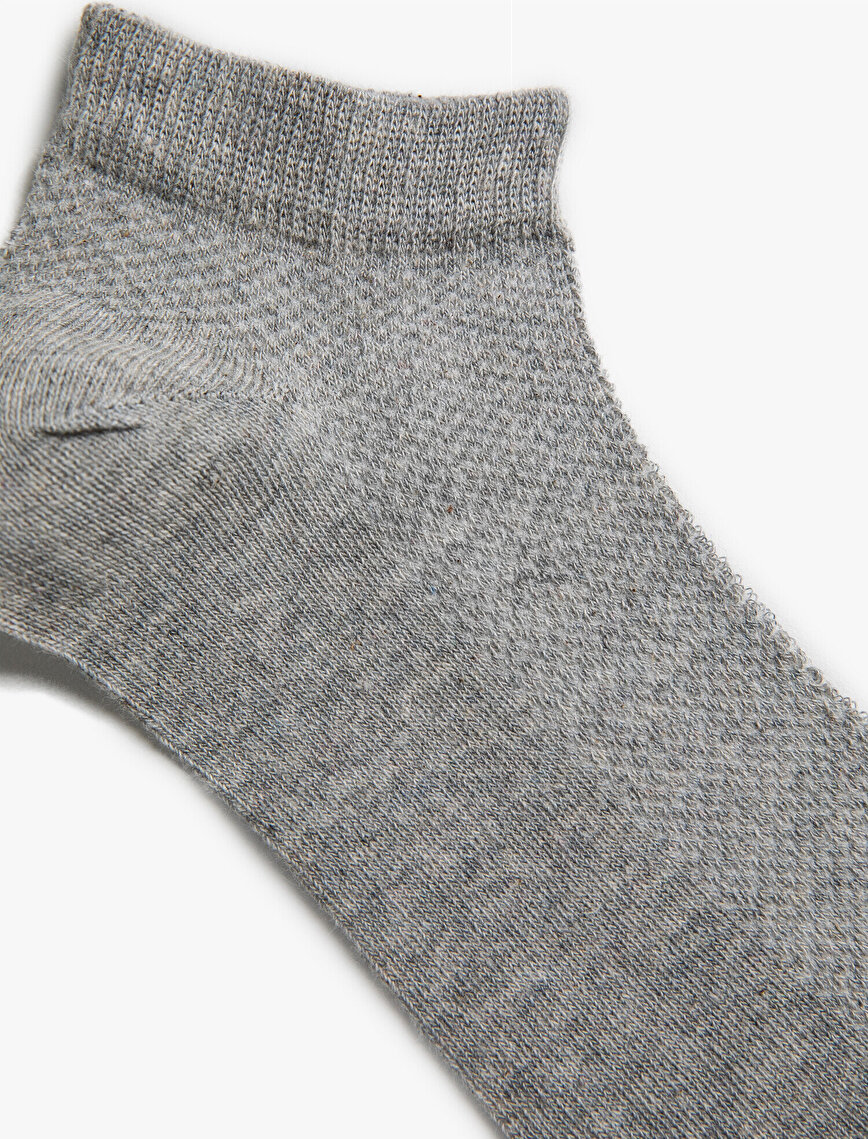 Kadın 4'lü Pamuklu Basic Çorap Seti