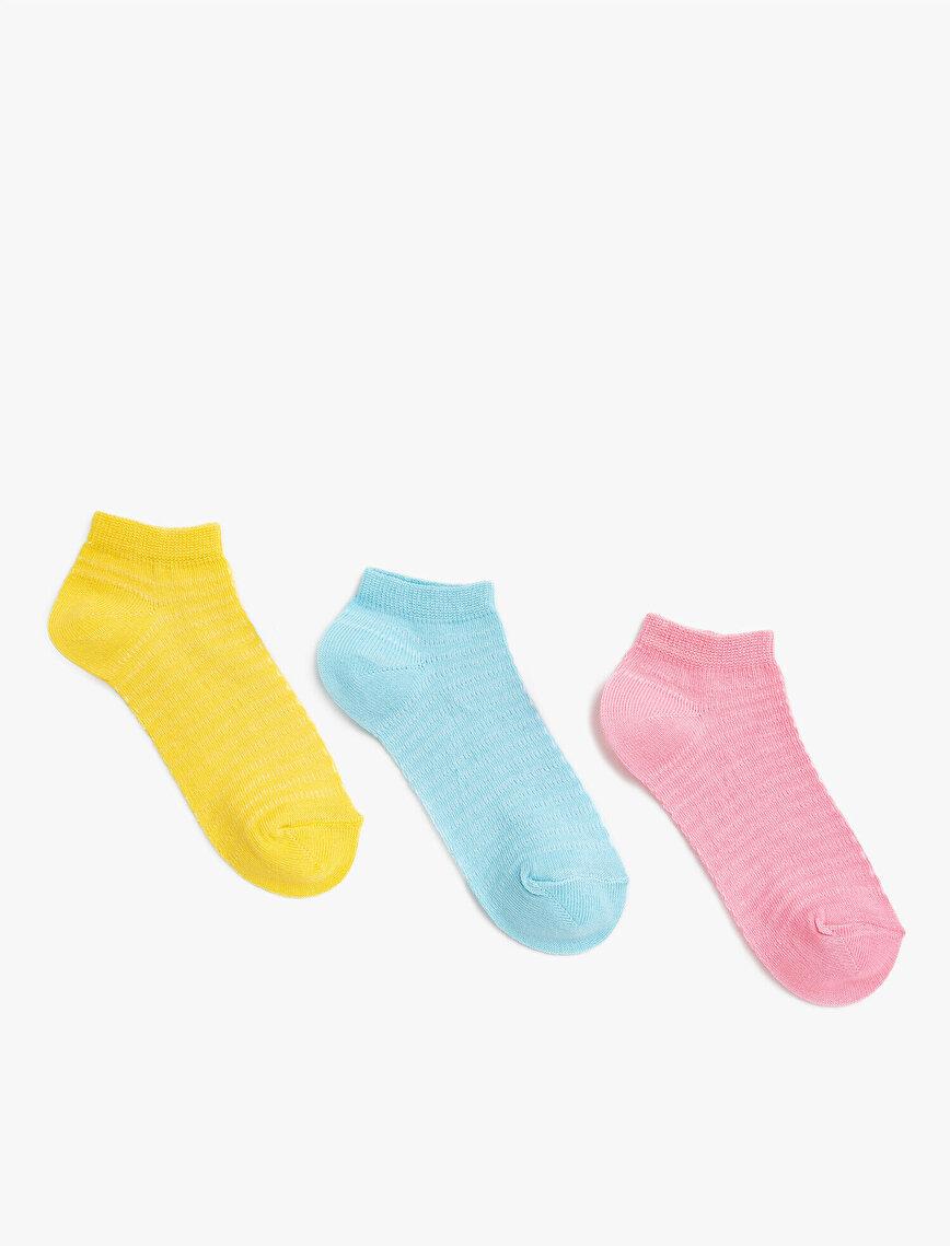 Kız Çocuk Çorap Seti Pamuklu