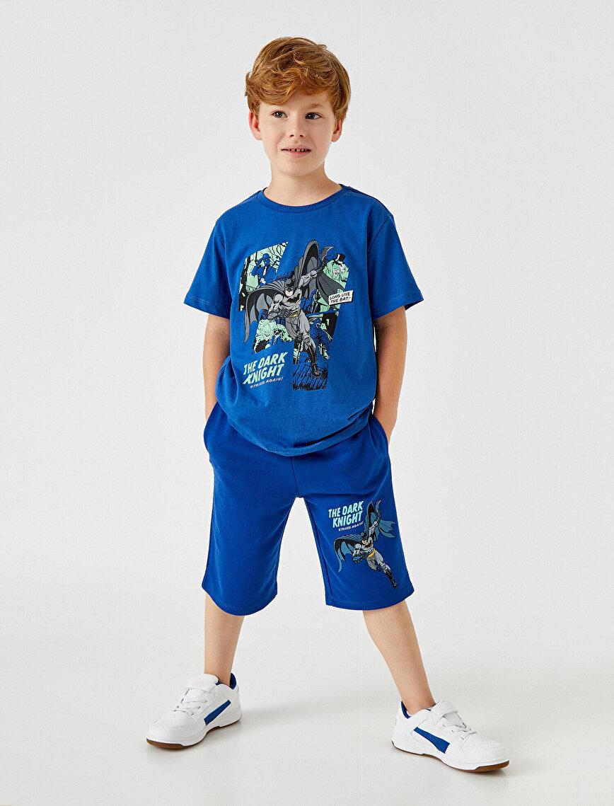 Batman Shorts Licensed Cotton