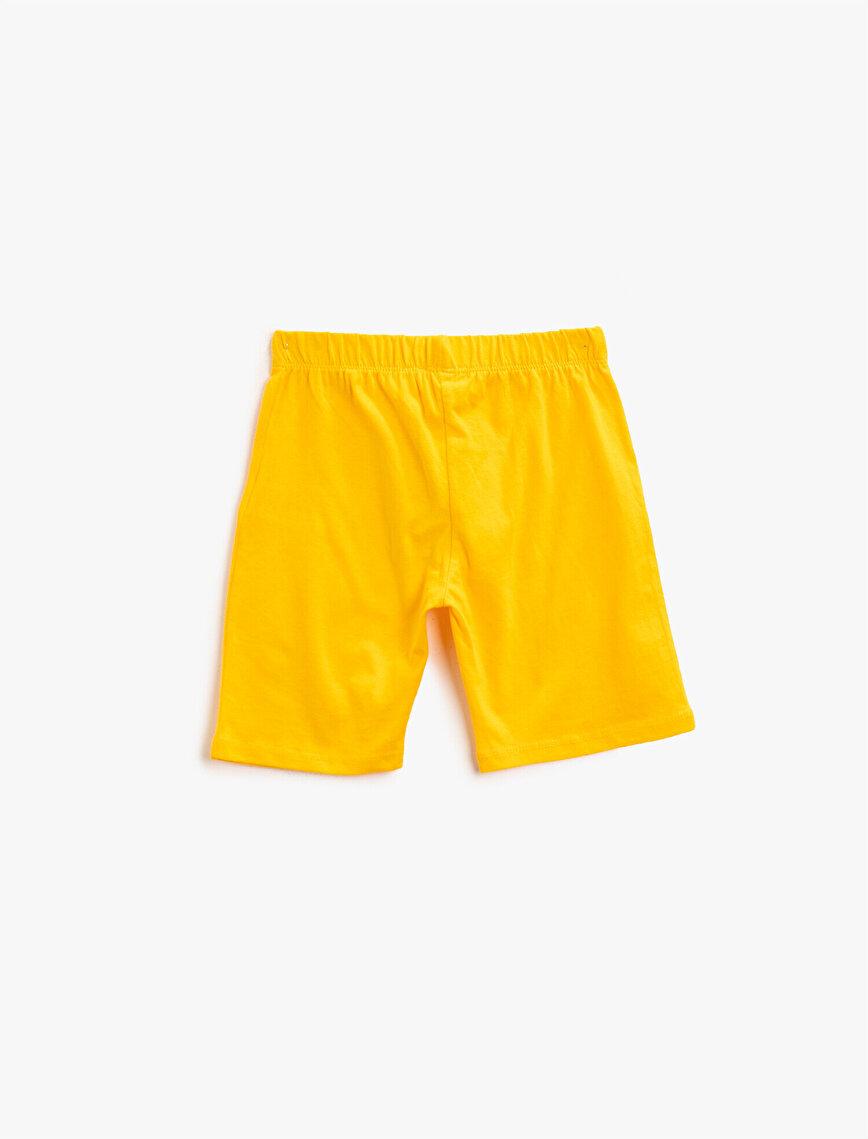 Printed Shorts Cotton