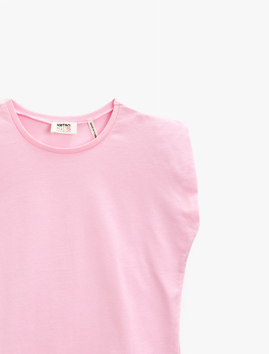 Crew Neck T-Shirt Cotton Basic
