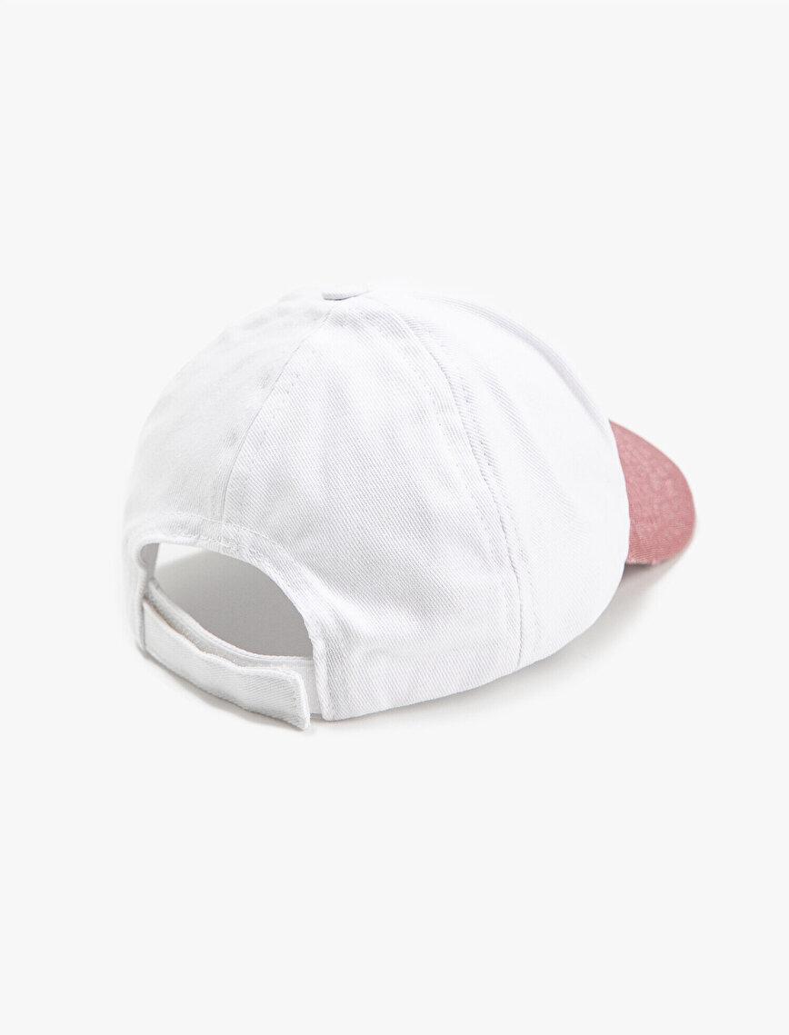 Renk Bloklu Kep Şapka