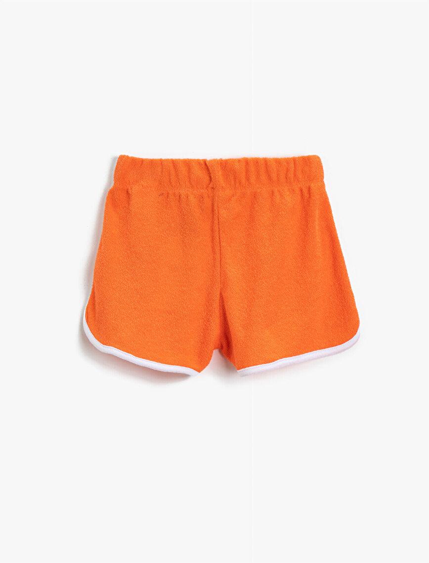 Stripe Detailed Shorts Cotton