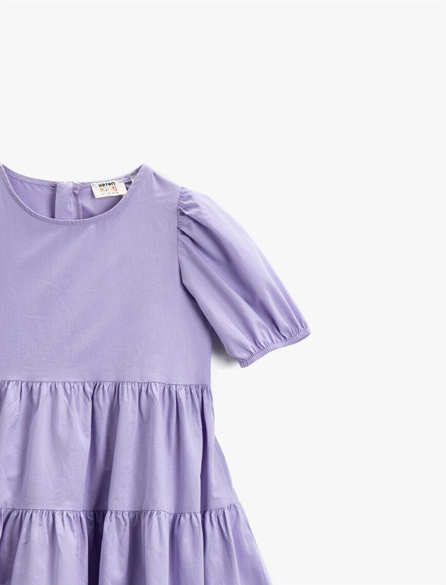 Summer Dress Puff Sleeve