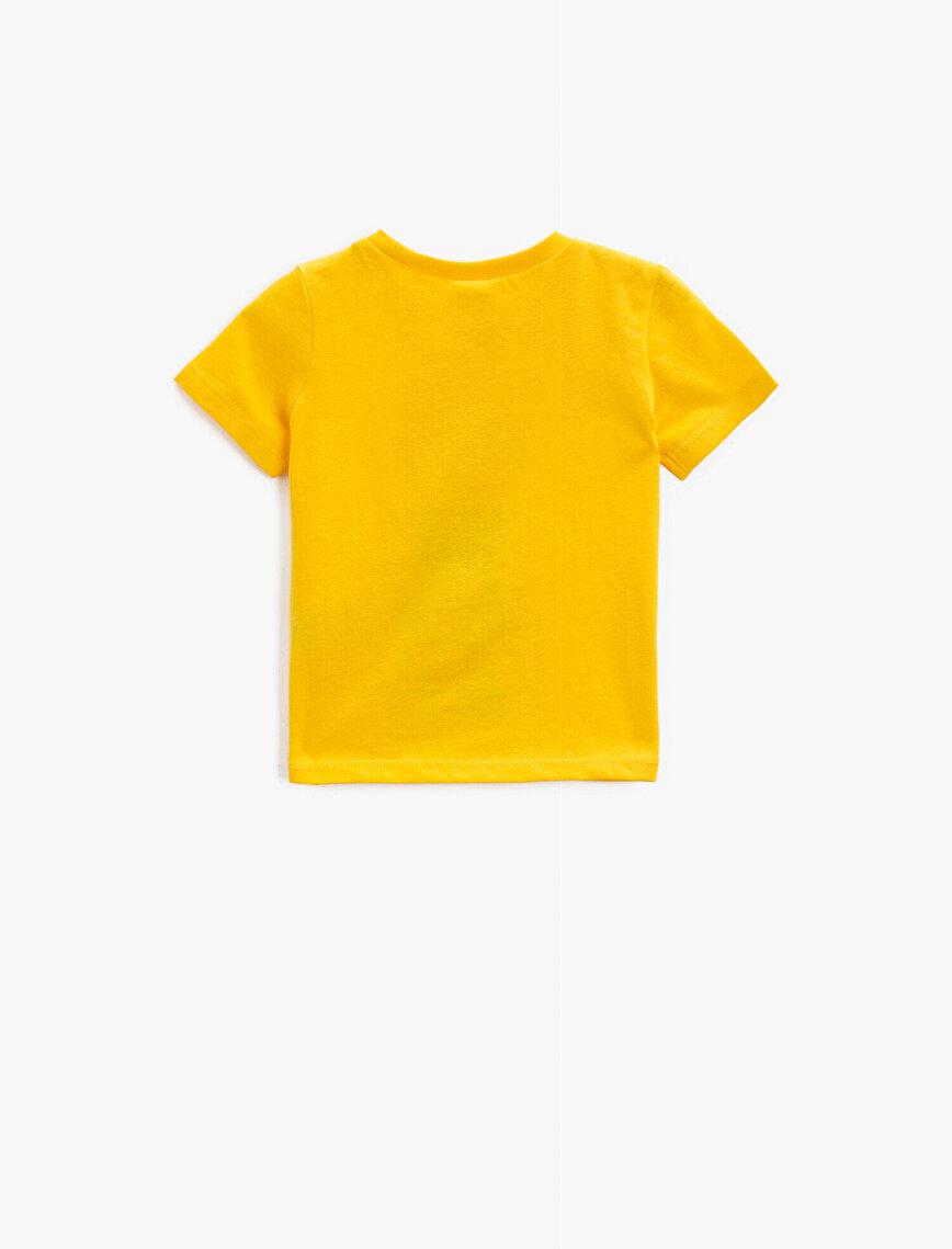 Baskılı Tişört Yazılı Pamuklu