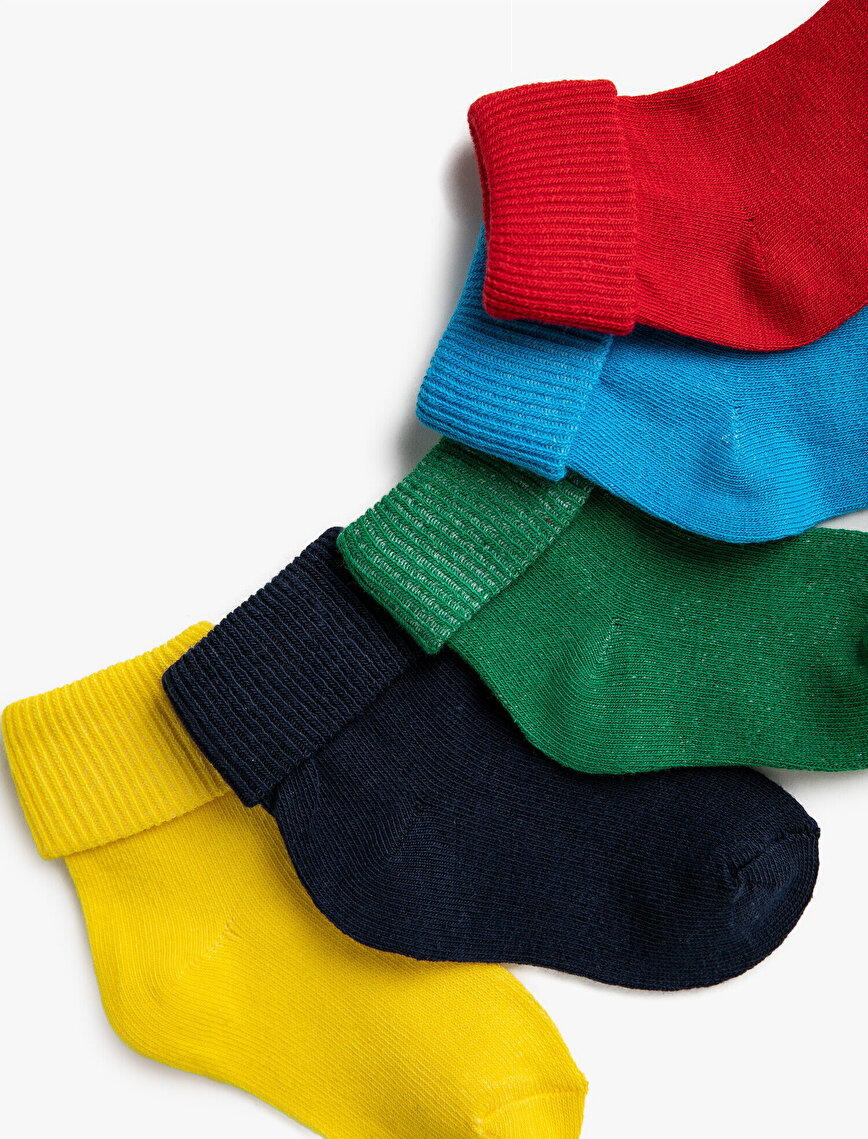 Erkek Bebek Basic Çorap Seti Pamuklu