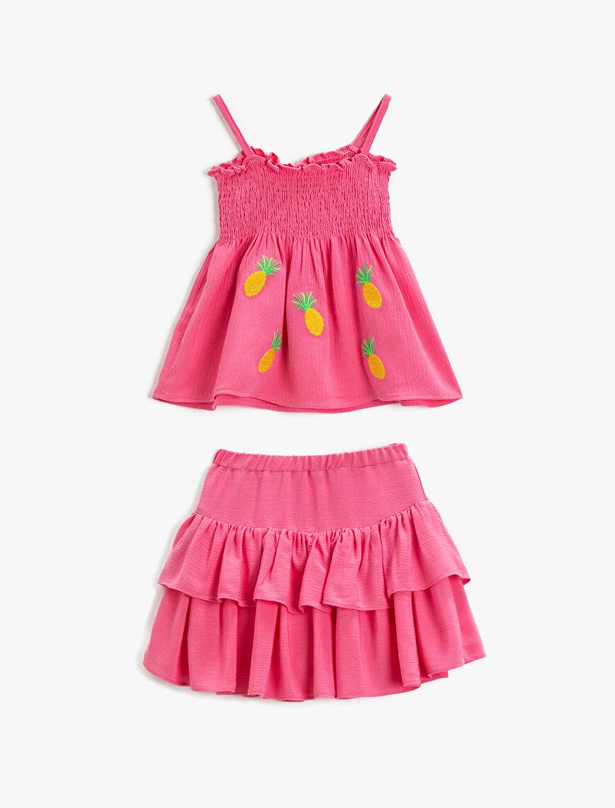 Frilled Skirt