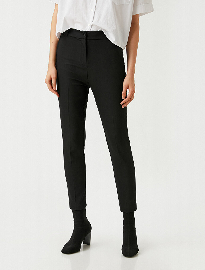 Basic Belted Trousers
