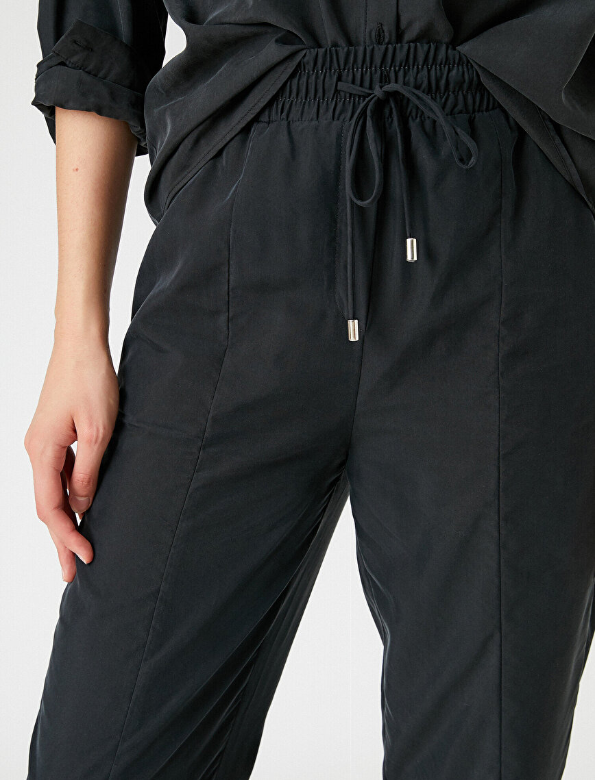 Elastic Waist Jogger Trousers