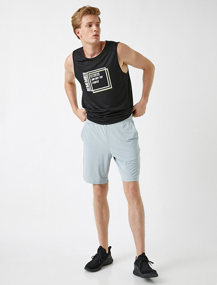 Relax Fit Sports Shorts