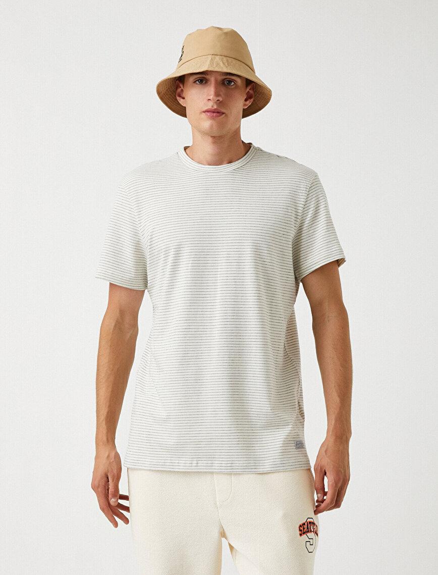 Striped T-Shirt Cotton