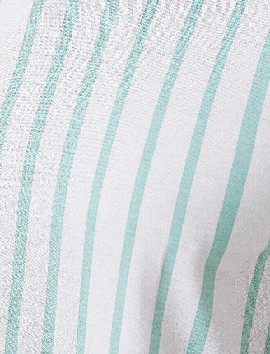 Çizgili Basic Tişört