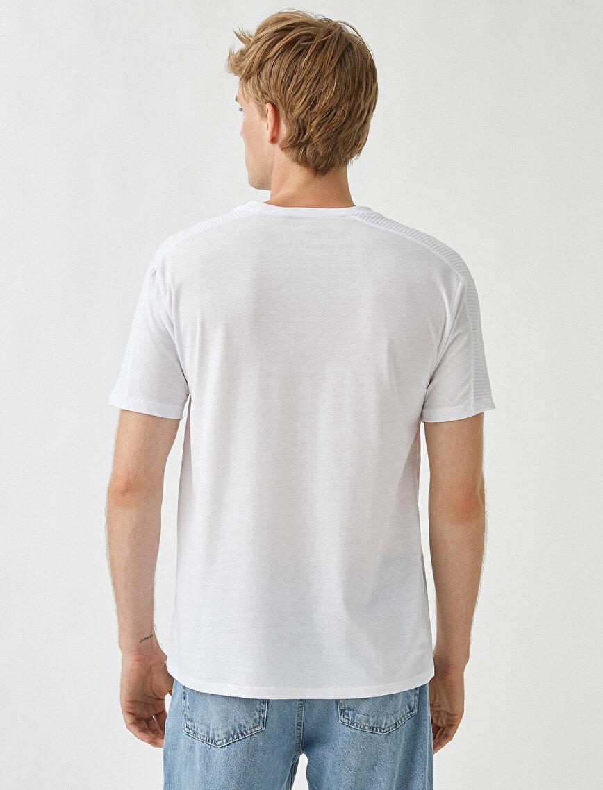 Slim Fit Basic Tişört Pamuklu