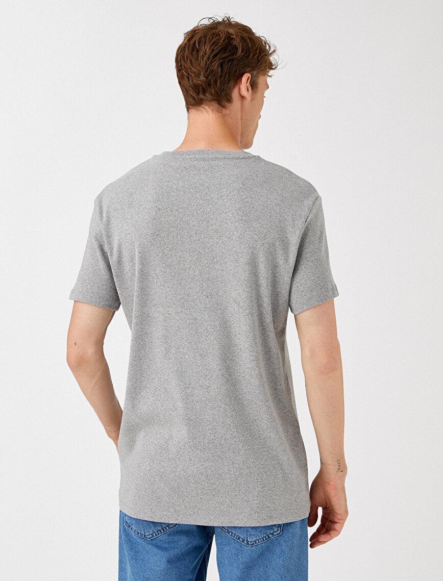 Pamuklu Oversize Tişört