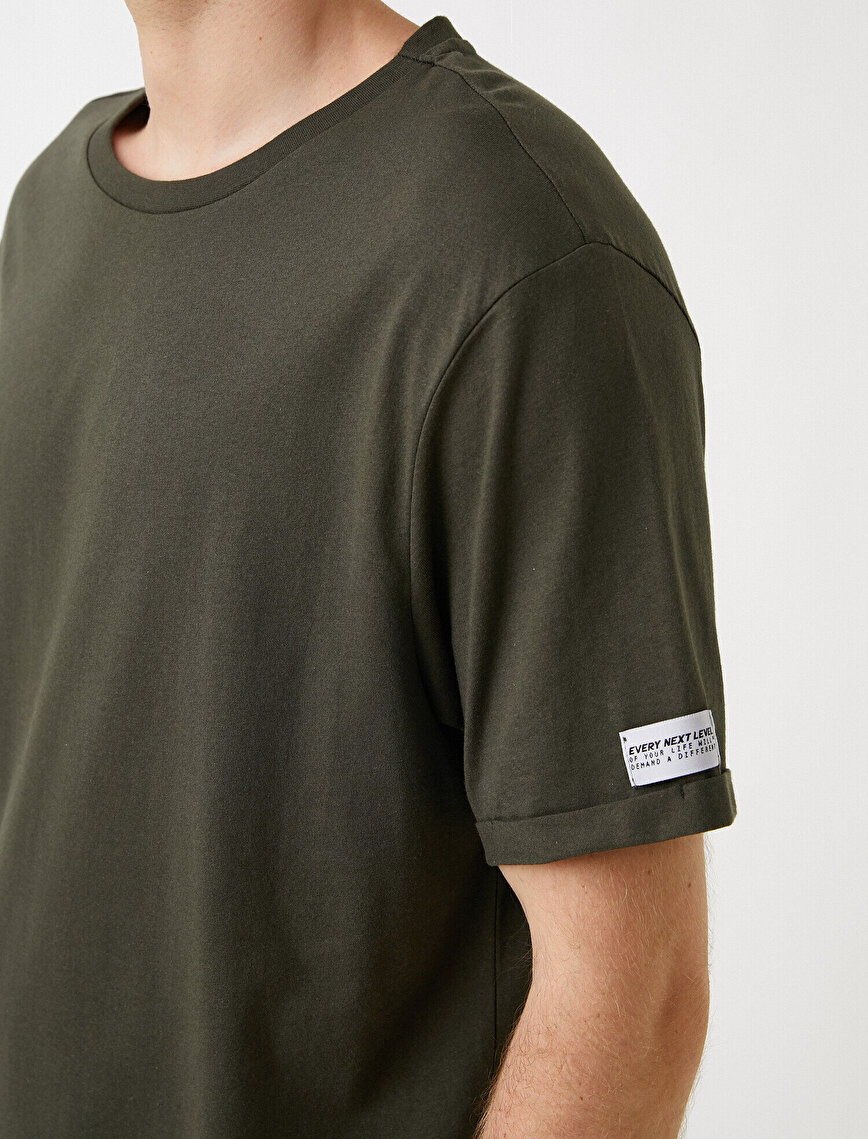 Long Fit Basic Tişört