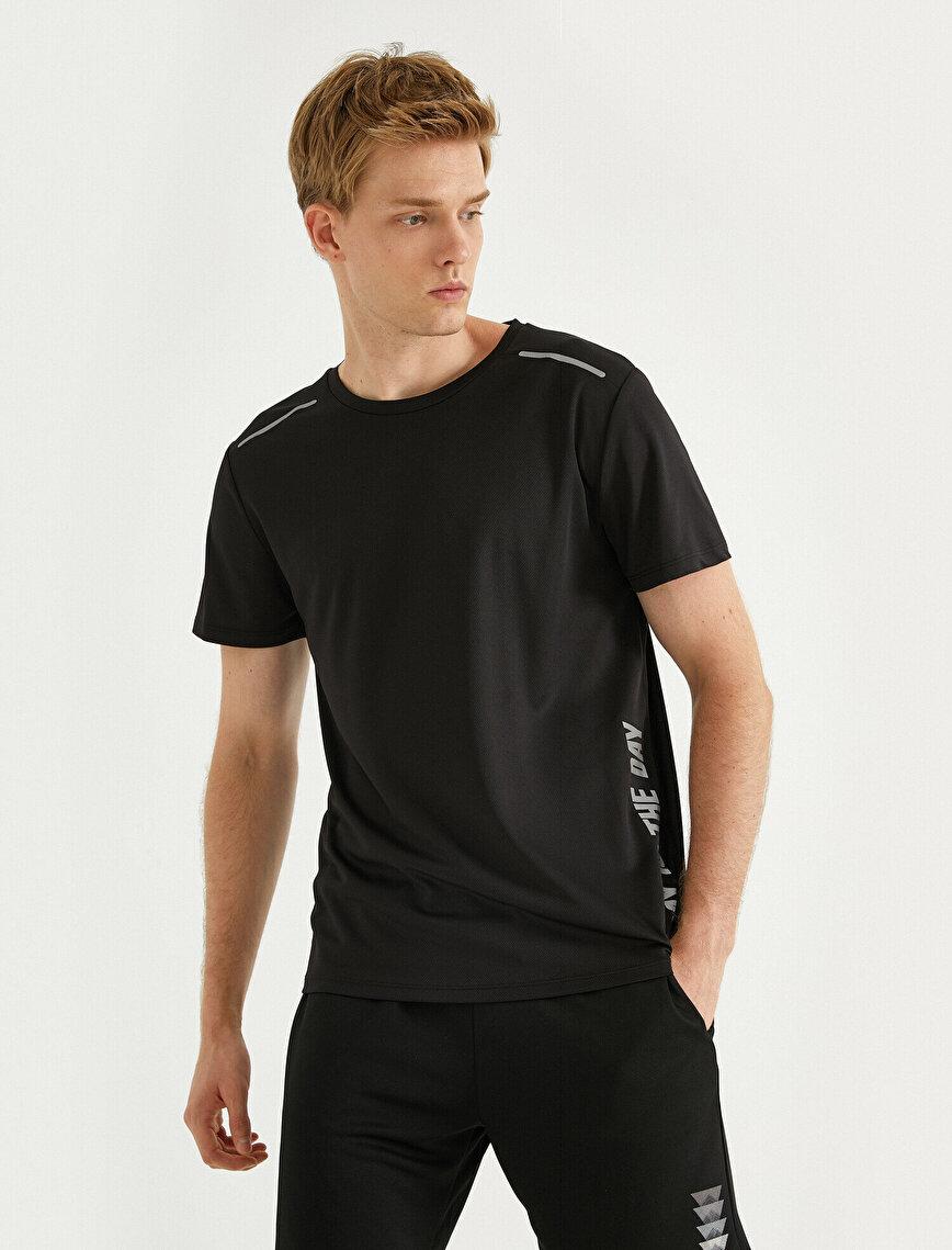 Printed Sports T-Shirt