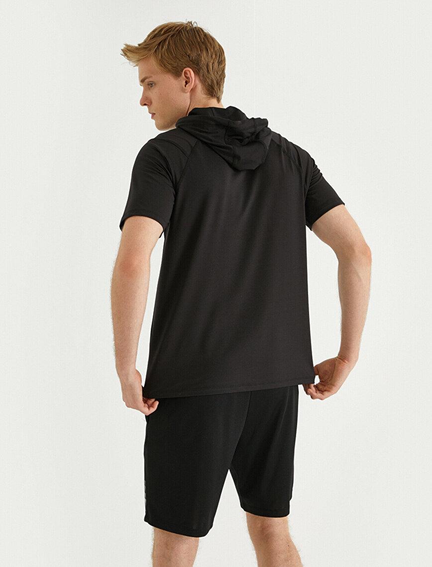 Hooded Sports T-Shirt