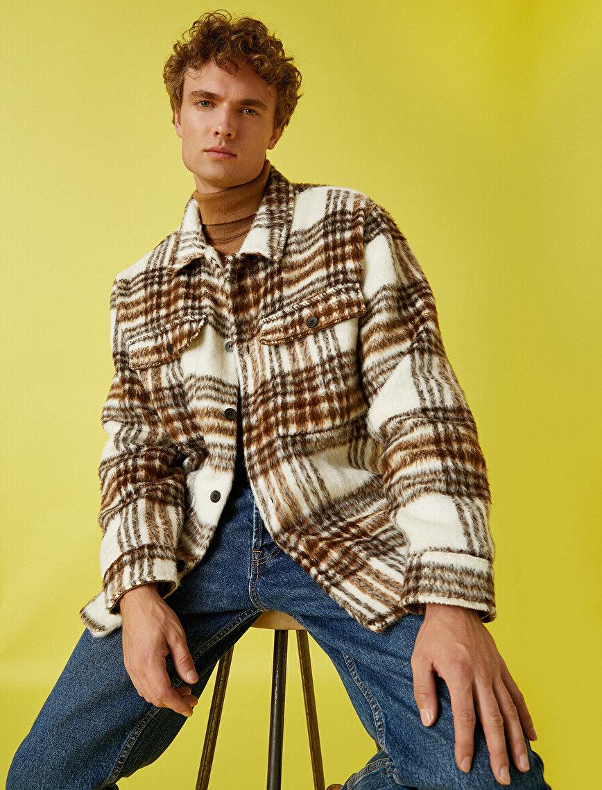 Lumberjack Shirt Jacket Checked