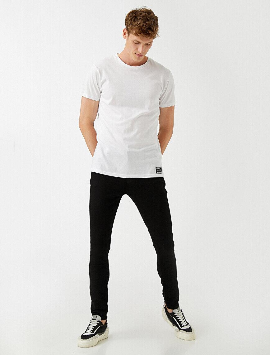 Super Skinny Fit Kot Pantolon - Justin Basic Jean