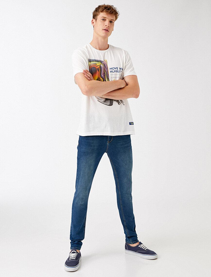 Skinny Fit Kot Pantolon - Michael Jean