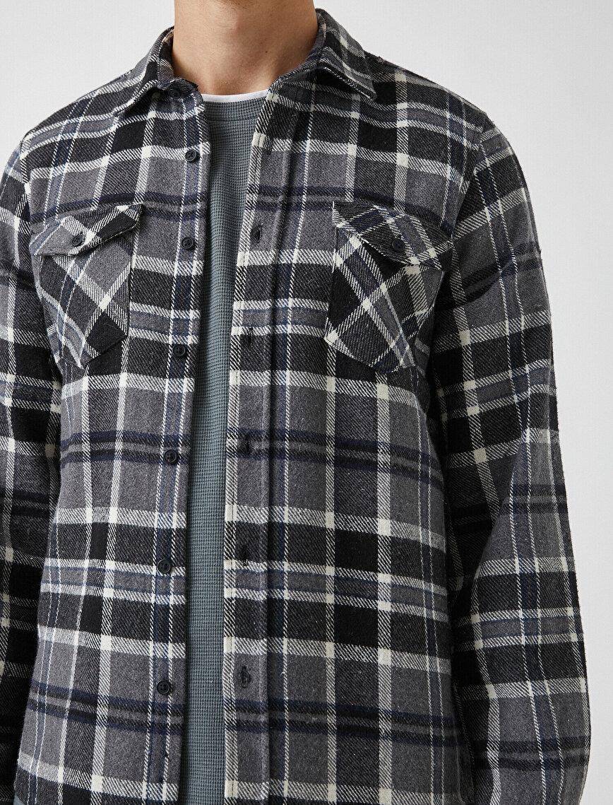 Oduncu Gömleği Ekoseli