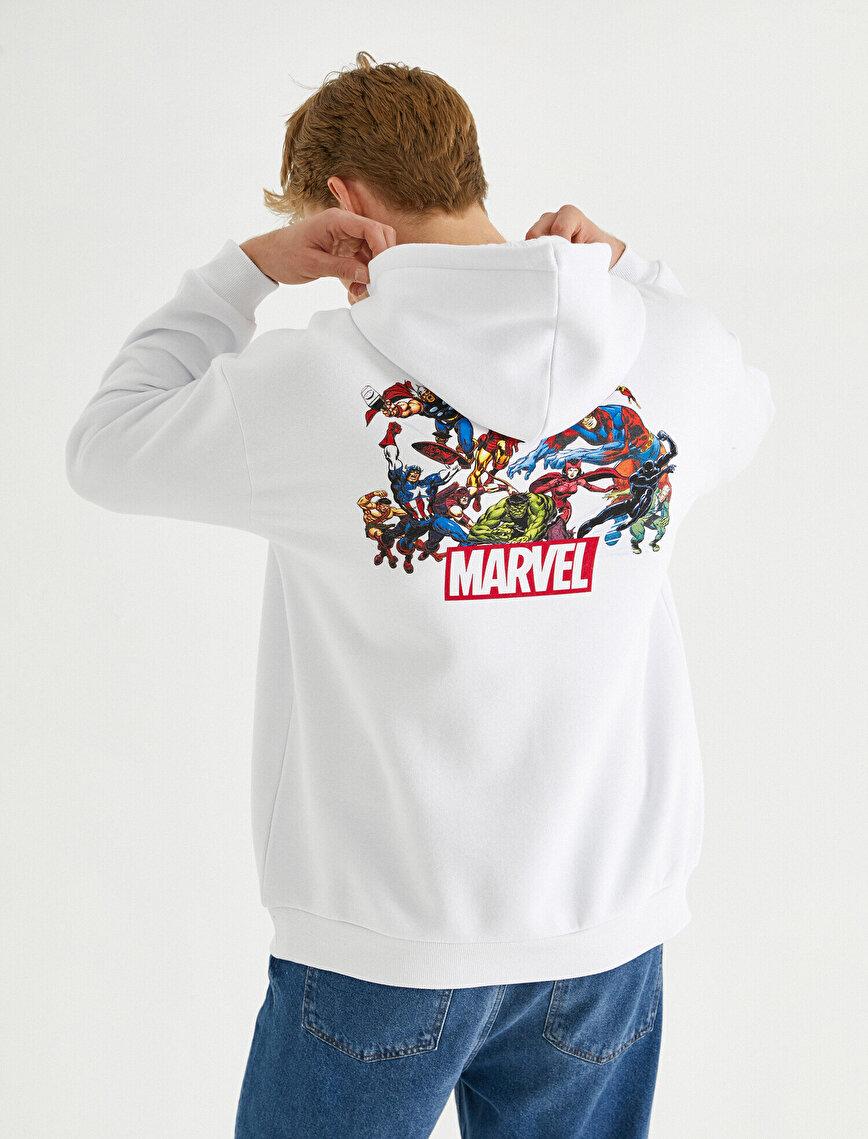 Marvel Oversized Sweatshirt Licenced Printed