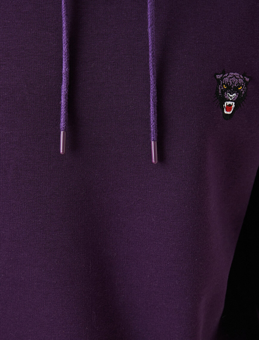 Panter Embroided Hoodie