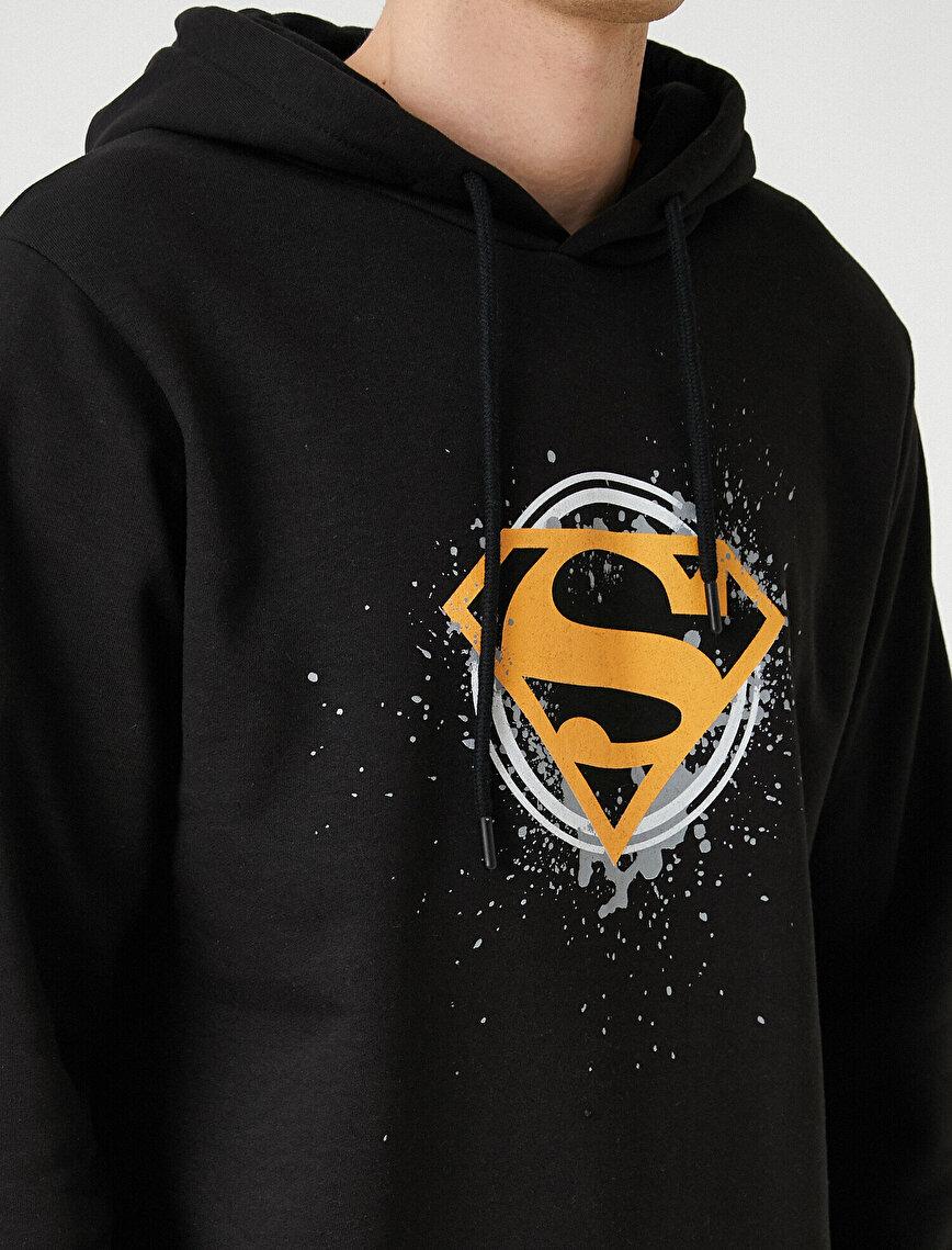 Superman Hoodie Licenced Printed