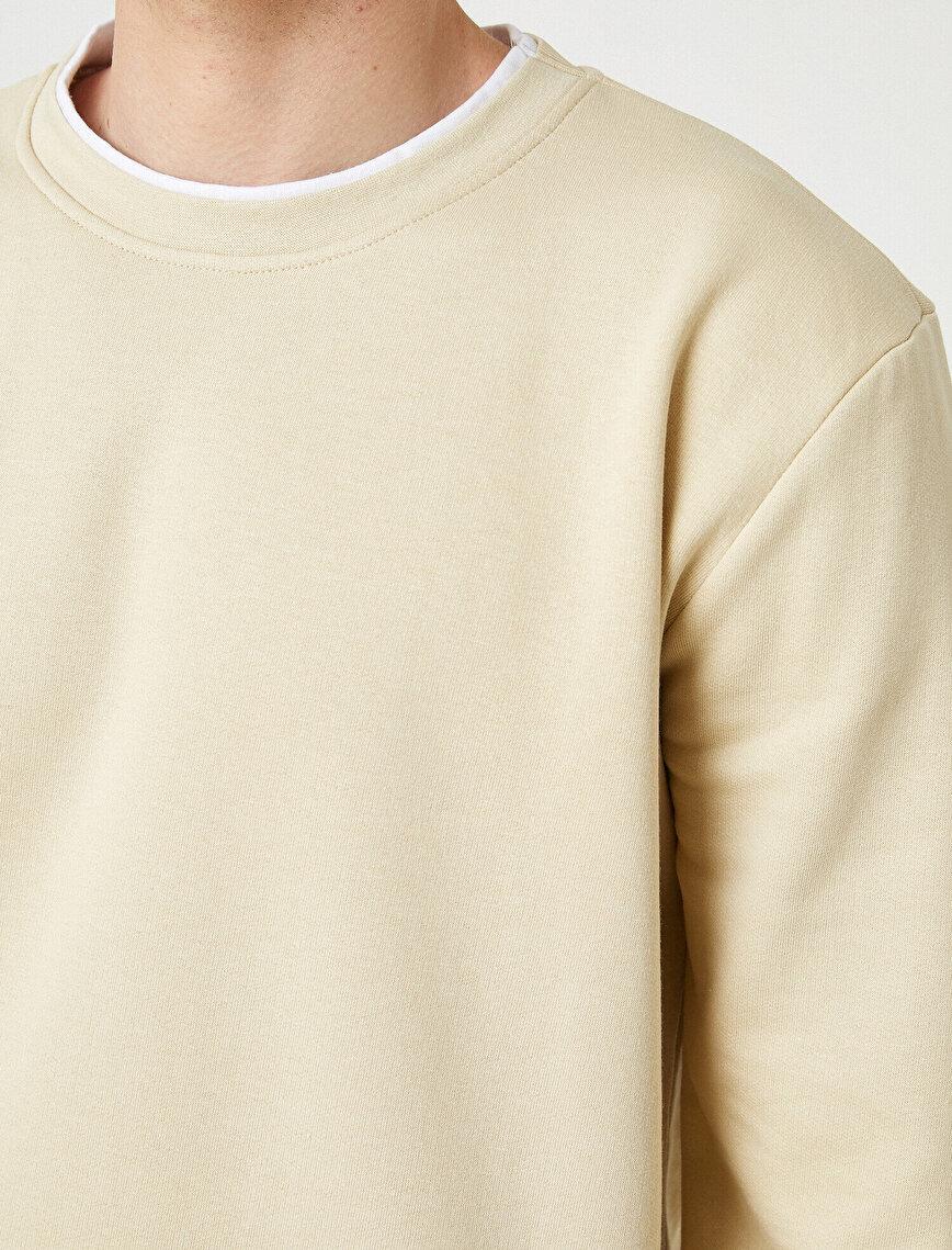 Basic Oversized Sweatshirt