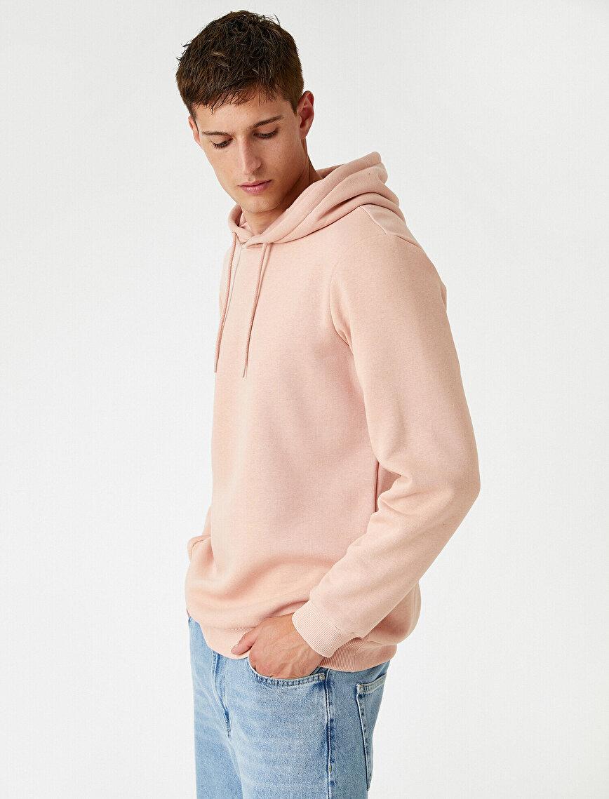 Basic Sweatshirt Kapşonlu