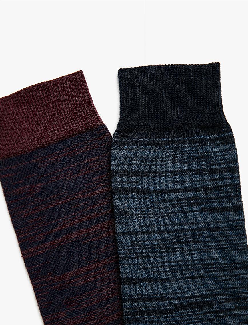 Men Cotton Socks Set 2-Packs