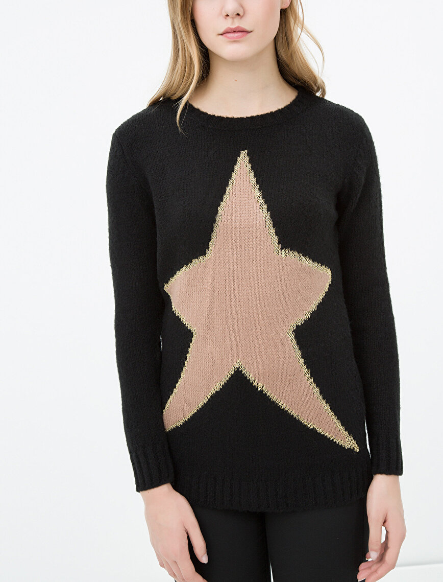 Star Patterned Jumper